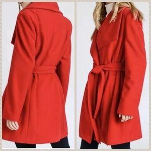 J Crew Sophie Wool Wrap Open Belt Coat Blazer